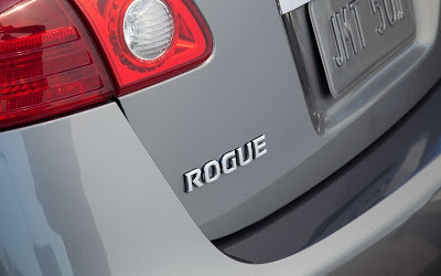 2011 Nissan Rogue Emblem View