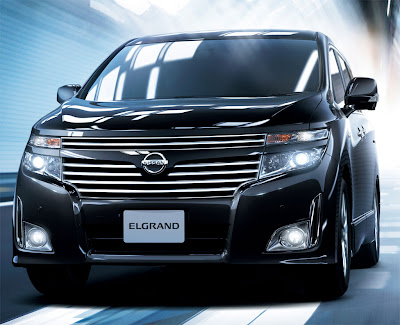 2011 Nissan Elgrand Front View