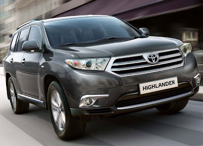 2011 Toyota Highlander Official Picture