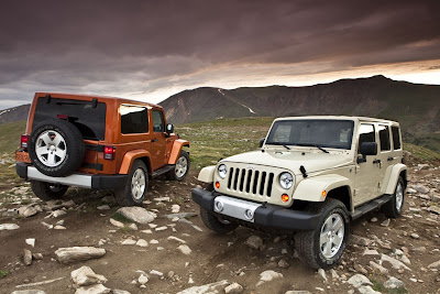 2011 Jeep Wrangler Launch