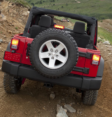 2011 Jeep Wrangler Rear View
