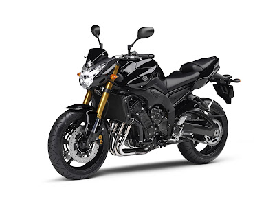 2011 Yamaha FZ8 Black Color