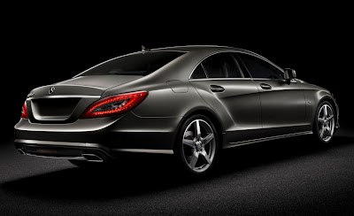 2012 Mercedes-Benz CLS Rear Angle View