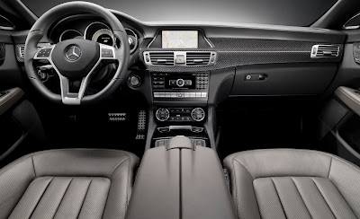 2012 Mercedes-Benz CLS Car Interior