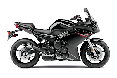 2011 Yamaha FZ6R Black Color