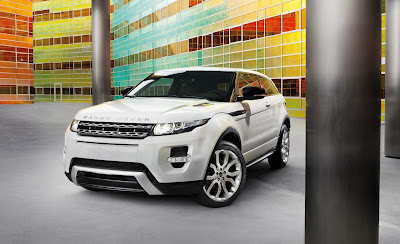 2012 Land Rover Range Rover Evoque At 2010 Paris Motor Show