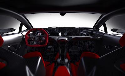 Lamborghini Sesto Elemento Concept Car Interior