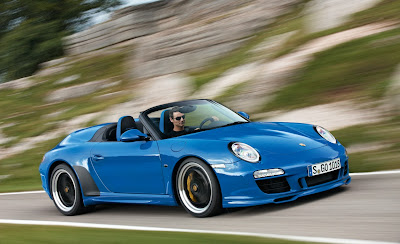 2011 Porsche 911 Speedster Official Photos