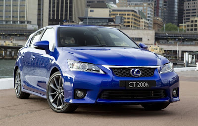 2011 Lexus CT 200h F Sport Front Angle View