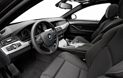 2011 BMW 5-Series M Sport Interior