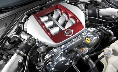 2011 Nissan GT-R Engine