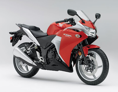 2011 Honda CBR250R Red Color