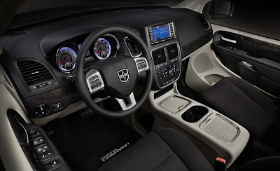 2011 Dodge Grand Caravan Interior View
