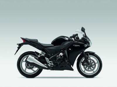 2011 Honda CBR250R Black