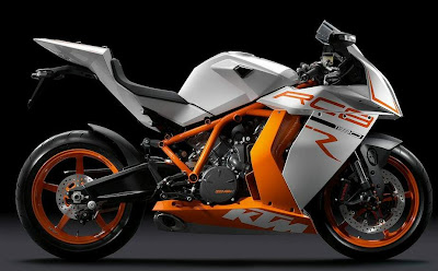 2011 KTM 1190 RC8R Official Photos