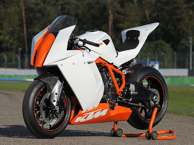 2011 KTM 1190 RC8R Front Angle View