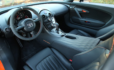 2011 Bugatti Veyron 16.4 Super Sport Interior View