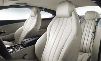2012 Bentley Continental GT Seats