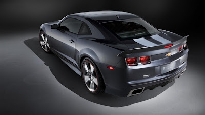 2011 Chevrolet Camaro Synergy Series Rear Angle View