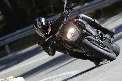 2011 Ducati Diavel Carbon Front Action View