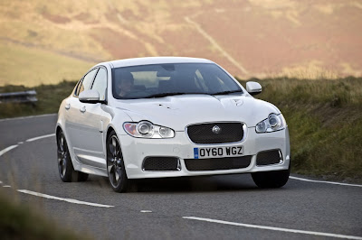 2011 Jaguar XF Black Pack Front Angle View