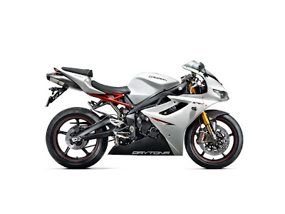 2011 Triumph Daytona 675R Supersport Bike