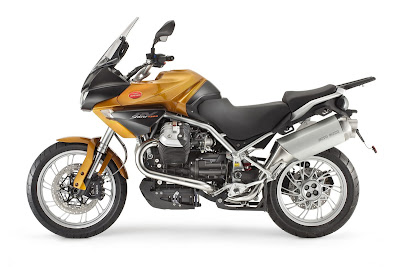 2011 Moto Guzzi Stelvio 1200 Official Photos