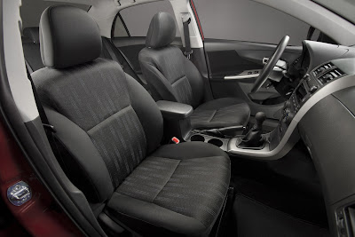 2011 Toyota Corolla Front Seats