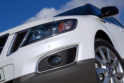 2012 Saab 9-4X Headlights