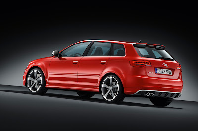 2012 Audi RS 3 Sportback Rear side View