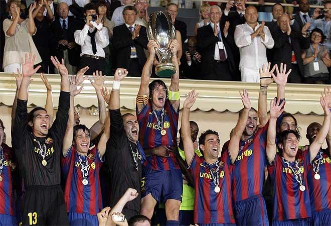 football players wallpapers 2010. Barcelona Best Football Team