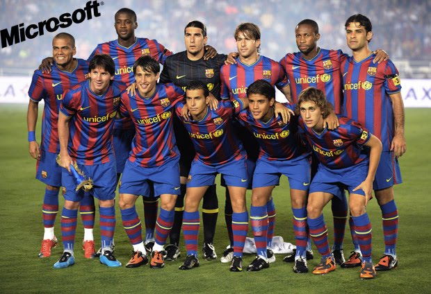 fc barcelona football