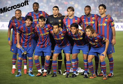 FC Barcelona Best Football Team Wallpaper