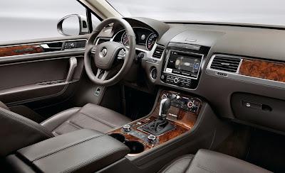 2011 Volkswagen Touareg Dashboard