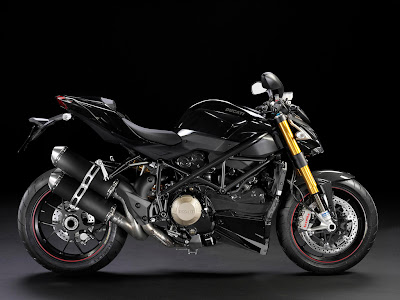 2011 Ducati Streetfighter S Black Color