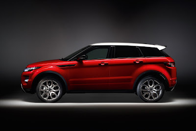 2012 Land Rover Range Rover Evoque 5-Door Side Studio View