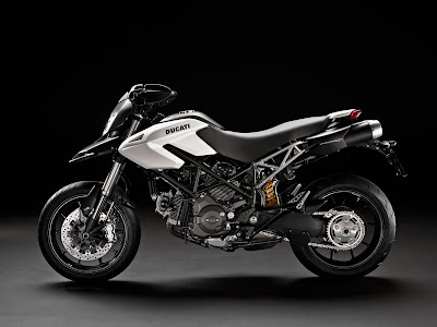 2011 Ducati Hypermotard 796 White Color
