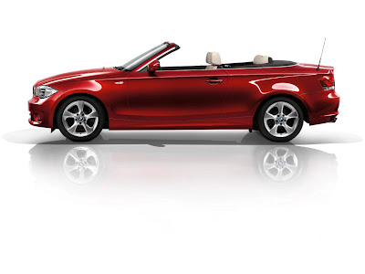 2012 BMW 1 Series Convertible Side View