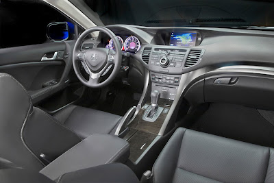 2011 Acura TSX Sport Wagon Interior View