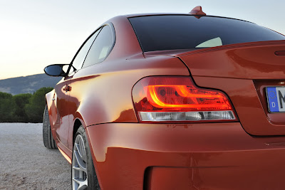 2011 BMW 1 Series M Coupe Taillight View
