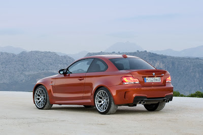 2011 BMW 1 Series M Coupe Rear Side View