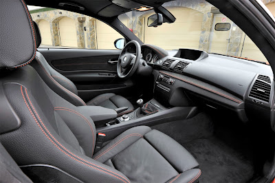 2011 BMW 1 Series M Coupe Interior View