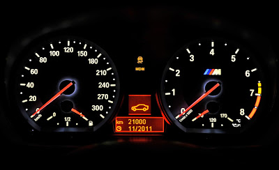 2011 BMW 1 Series M Coupe Instrument Cluster