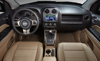 2011 Jeep Compass Interior View