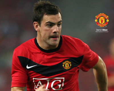 Darron Gibson Manchester United Soccer Player