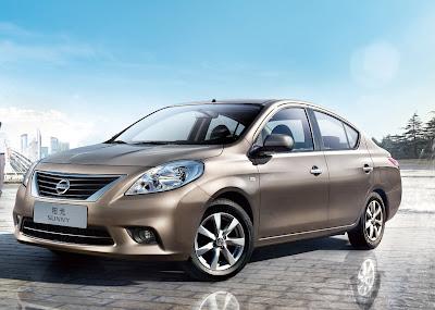 2012 Nissan Sunny Sedan unveiled