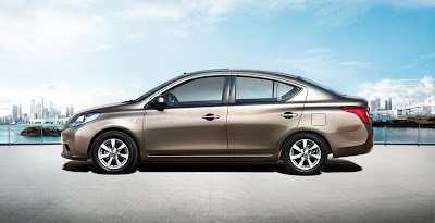 2012 Nissan Sunny Side View