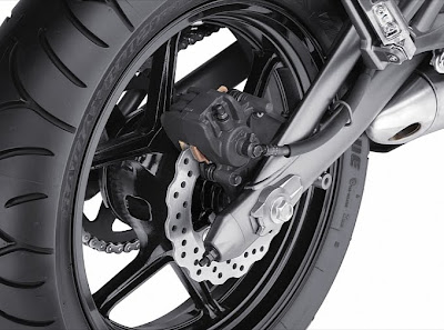 2011 Kawasaki Ninja 650R Rear Brake
