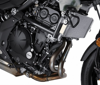 2011 Kawasaki Ninja 650R Engine View