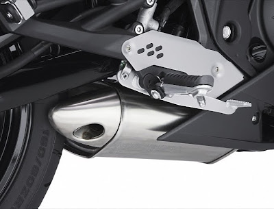 2011 Kawasaki Ninja 650R Exhaust Photo